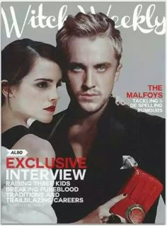 Dramione, witch weekly, gorgeous couple