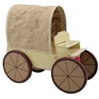 Covered Wagon - Kids Craft many many western unit craft ideas and pretty simple :)
