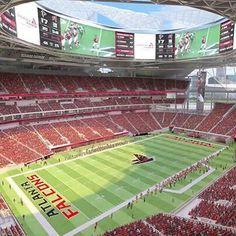 Coming in 2017... #NewAtlantaStadium #Falcons #RiseUp