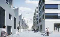 1. Platz im Wettbewerb Gleis Nord in Lenzburg - Züst Gübeli Gambetti - Architektur und Städtebau AG - Architekten Zürich