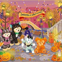 Duffy and Shellie May iMessages free sticker Disney Halloween, Bear Halloween, Tokyo Disney Sea, Tokyo Disneyland, Disney Kunst, Disney Art, Duffy The Disney Bear, Happy Friends, Holiday Pictures