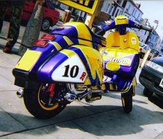 Vespa Racer by cronuskane, via Flickr