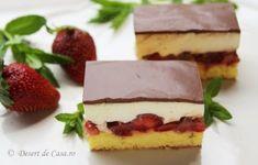 Prajitura cu ciocolata si capsuni Romanian Desserts, Pavlova, Diet Recipes, Ale, Bakery, Sweet Treats, Cheesecake, Food And Drink, Keto
