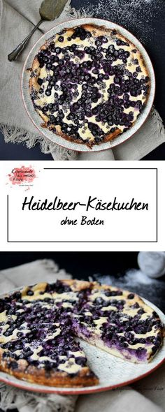 Heidelbeer-Käsekuchen | Backen | Rezept | Weight Watchers