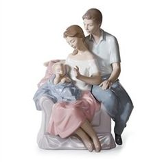 Lladro A Circle Of Love. #Lladro #Statue #Sculpture #Decor #Gift #gosstudio .★ We recommend Gift Shop: http://www.zazzle.com/vintagestylestudio ★