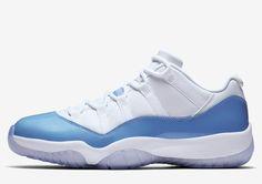 "Air Jordan 11 Retro Low ""University Blue"""