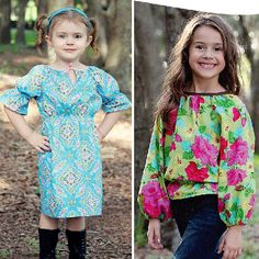 Liesel Dress and Top from SewBaby.com