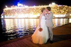 Oasis Of The Seas Cruise Ship Wedding Elisha Orin Photography Stthomas