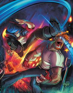 Retro Videogame Magazine #2 - Cover  by Rob Duenas Website-Tumblr-Facebook