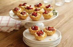 Baked Cheese and Bacon Jam Bites