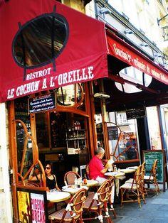 LE COCHON A L'OREILLE, 15 rue Montmartre Paris