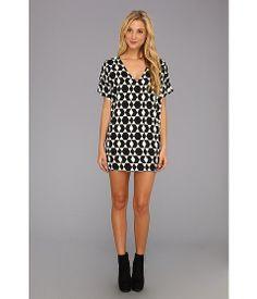 Christin Michaels Gallia Geo Print Dress