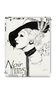 """FILM NOIR"" iPad Cases by Alchimia | Redbubble"