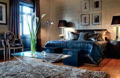 Love this bedroom by Peter Phan