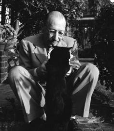 Igor Stravinsky and Cat
