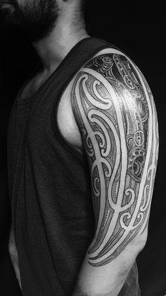 How do you like this tattoo? Navajo Tattoo, Maori Tattoo Arm, New Tattoos, Tribal Tattoos, Polynesian Tattoos, Maori Art, New Zealand, Ear, Auckland