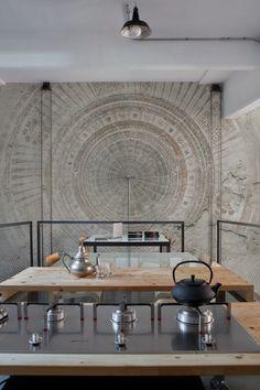 Wall and Deco MANDALA wallpaper