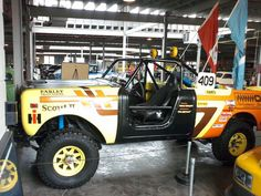 IH SS II Baja Racing Truck.