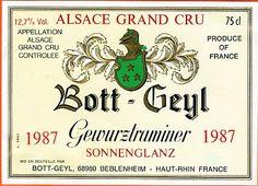Bott Geyl Beblenheim Sonnenglanz Gewurztraminer