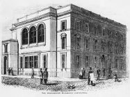 Manchester Mechanics Institution - site of the first Trades Union Congress in 1868