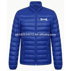 Down Filled Jackets/ Custom High Quality Down Filled Jackets