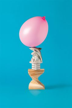 Creative Art, Direction, Ill, Studio, and - image ideas & inspiration on Designspiration Ill Studio, Kitsch, Milk Magazine, Bokashi, Memphis Pattern, Pink Balloons, Prop Styling, Find Objects, Still Life Art
