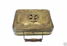 Antique Brass Carriage Foot Warmer French | eBay