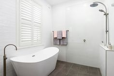 All Suburbs 02 8541 9908 Bathroom Renovations Sydney, Freestanding Bath, Shower Screen, Vanity Units, Towel Rail, Clawfoot Bathtub, Shower Heads, Brushed Nickel, Bathrooms