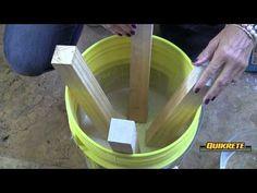 (10) IDEAS CONCRETAS: Cómo hacer un taburete en concreto - YouTube