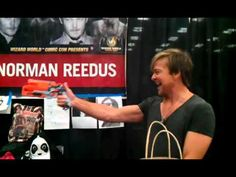 Norman Reedus & Sean Patrick Flannery nerf fight