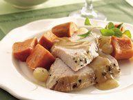 Slow Cooker Home-Style Turkey Dinner recipe from Betty Crocker