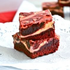 Red Velvet Cream Cheese Brownies Recipe !!!!OMG Number 1 on my list to try!!!!!!!!!!