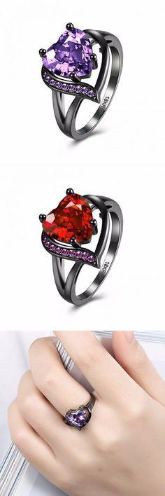 Wedding jewelry and tiara sets inalis heart zircon rhinestone ring for women #wedding #jewelry #kanata #wedding #jewelry #las #vegas #wedding #jewelry #with #ivory #dress #wedding #jewelry #with #strapless #dress #weddingjewelry #weddingdress