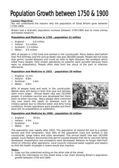 Vast range of Industrial Revolution Worksheets. Tailored towards UK KS3 & KS4 however used globally. Produced by internationally renowned history teacher.
