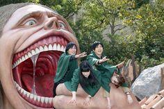 Isayama Hajime, Kaji Yuuki (Eren), Ishikawa Yui (Mikasa), and Inoue Marina…