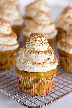 Tiramisu Cupcakes | Insanely Delicious Cupcake Recipes | The Cupcake Daily Blog Recipe via Brown Eyed Baker