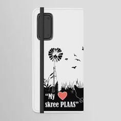 My HART skree plaas Android Wallet Case Acrylic Box, Surface Pattern Design, Tech Accessories, Creative Design, Old School, Original Artwork, Purpose, Android, Throw Pillows