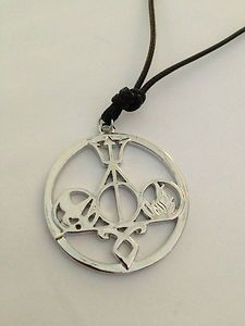 RARE MULTI FANDOM NECKLACE!!! -$24.99 - This necklace is in silver and it includes the book/movie symbol for Harry Potter (Deathly Hallows), Percy Jackson (Tridant), The Hunger Games/Catching Fire (Mockingjay), The Mortal Instruments: City of Bones (Angelic Rune), and Divergent (Dauntless). This is a rare find and there is only so much available!!!