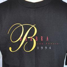 Barbara Streisand Concert L T-shirt Large Mens 1994 DC NY SJ London Anaheim NOS #barbarastreisand