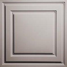 Tuile de plafond suspendu Ceilume Stratford 2 pi x 2 pi Blanc Drop Ceiling Tiles, Ceiling Grid, Dropped Ceiling, Ceiling Panels, White Ceiling, Ceiling Decor, Ceiling Lights, Ceiling Ideas, Ceiling Coverings