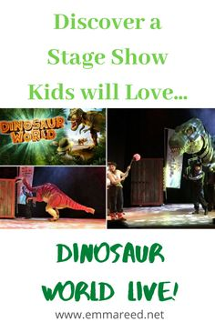 Review: Dinosaur World at The Anvil. Take a sneak peek of the fantastic show with dinosaurs #stageshow #kidsshow #showforkids #theatre #kidstheatre Get Her Back, Fantastic Show, Stage Show, Back Off, Very Excited, New Shows, Best Mom, Mom Blogs, Disney Magic