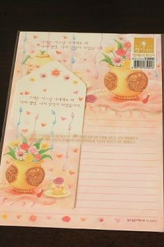 Kawaii Letter Set - Flowers