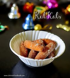 Kulkuls recipe - eggless christmas recipe