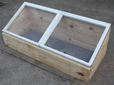 build and use your own cold frame to grow veggies now on the cheap, diy, gardening, how to, woodworking projects, Our cold frame built form a pair of old window sashes and two pieces of 2 x 10 x 10 framing lumber