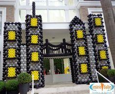 decoracion con globo fiesta batman (14)