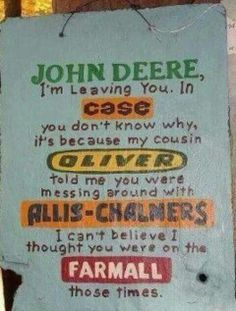 I'm going to make this sign for my papa! :D