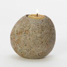 $12 Terrain Lava Stone Votive Holder #shopterrain