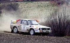 Welsh Rally 1986 Hannu Mikkola.  #rally #rallye #ralli #audi #audiquattro #groupbrally #quattro #motor #car #pictureoftheday #action