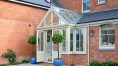Three different additions to this property in Somerset show the wide range of designs David Salisbury undertakes. Front Door Porch, Side Porch, House Front, Front Porches, Canterbury House, Orangery Conservatory, Porch Extension, Extension Ideas, Garden Room Extensions