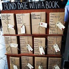 More blind dates with books!